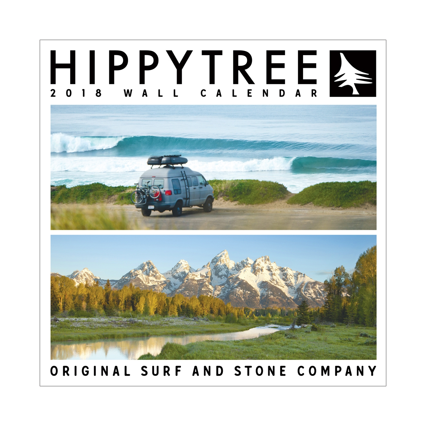 2018 Wall Calendar Assorted   HippyTree 16ac63a6a471
