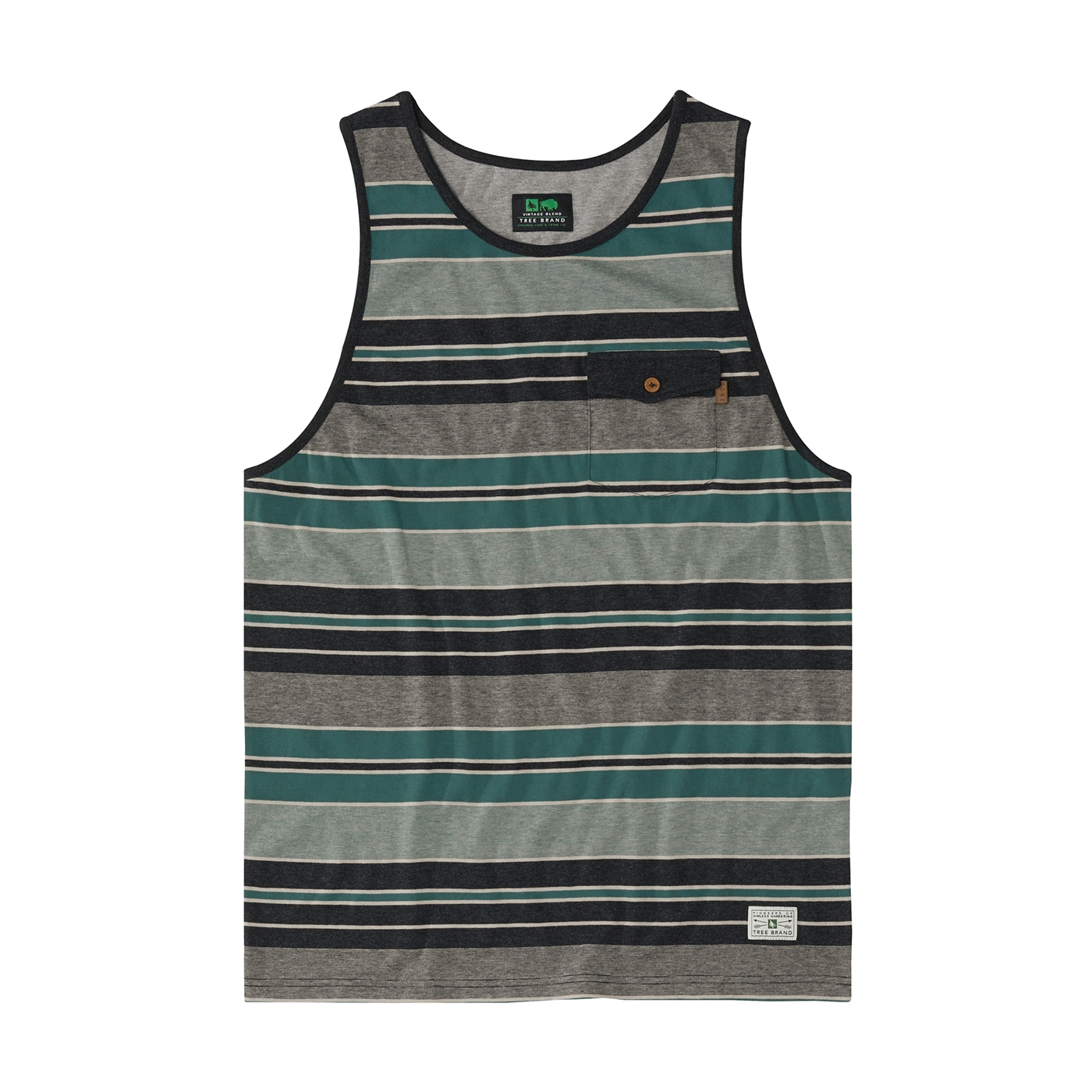 9cc2e50073a697 Bristol Tank Heather Black   HippyTree