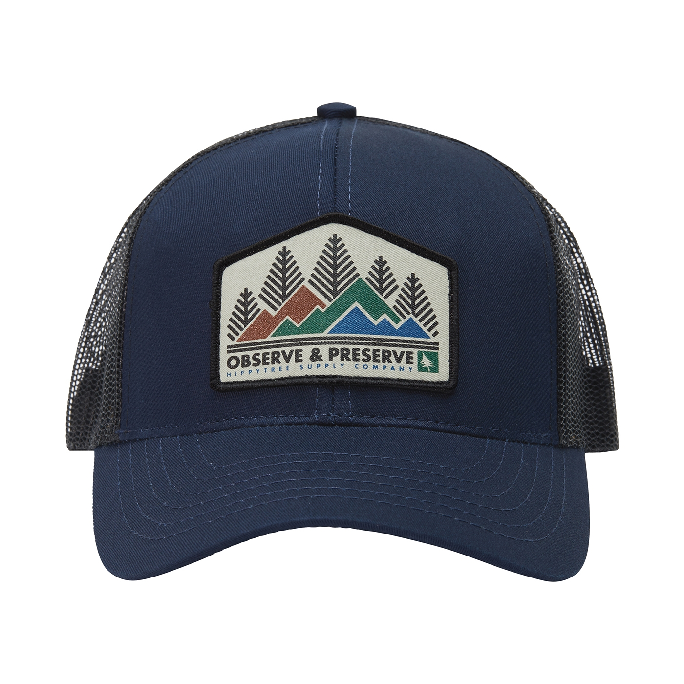bb795ece70f Heritage Hat Navy   HippyTree