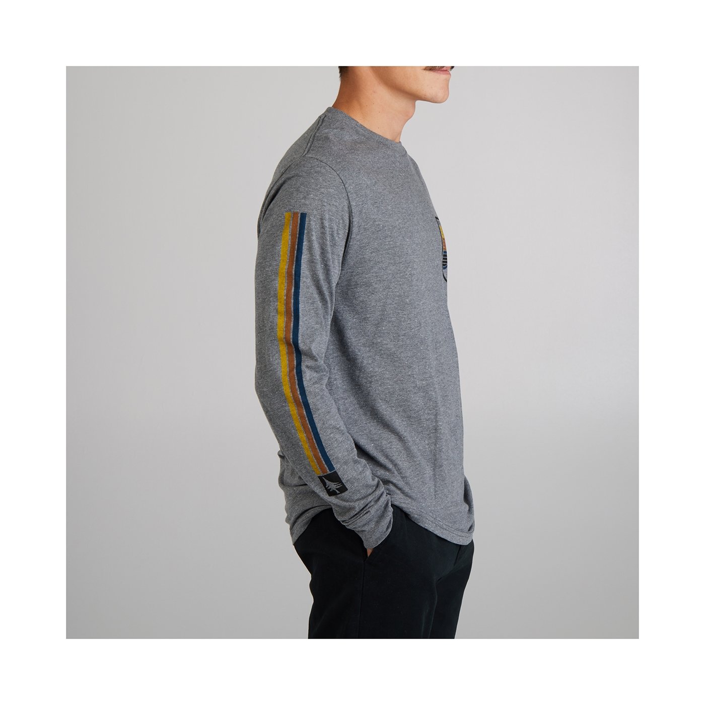 Seastripe Long Sleeve Tee