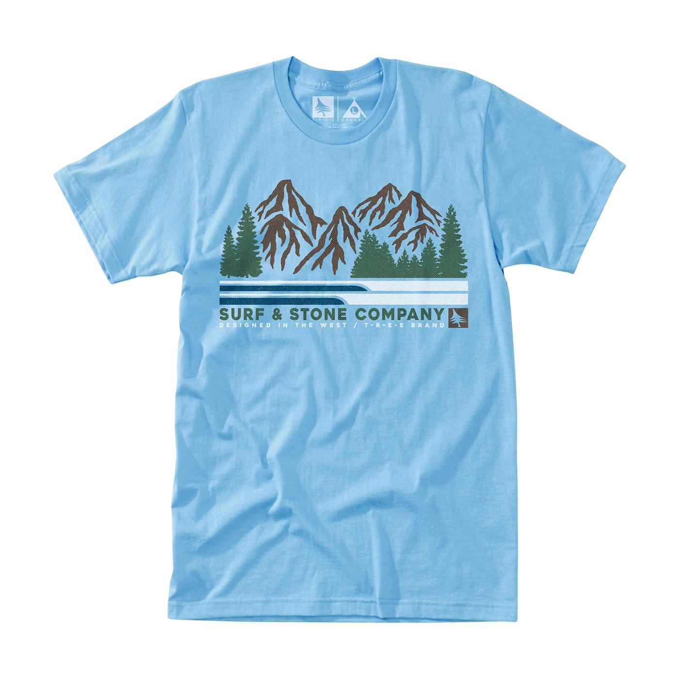 Woodsman Tee Light Blue Hippytree